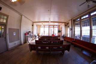 This photo shows the Jesus House chapel before the recent renovation by All Souls' Episcopal Church. Photo provided