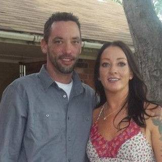 Erron Heise, 39, of Edmond, is shown with his wife, Amy. Heise died 16 days after he was injured riding his motorcycle at Countrywood Lane and Santa Fe Avenue on Sept. 24. PHOTO PROVIDED - PHOTO PROVIDED