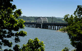 A view of Lake Texoma. Oklahoma officials are suing Pointe Vista Development LLC, claiming the developer failed to build a four-star hotel on the lake and should sell the former park land back to the state. FILE PHOTO BY STEVE SISNEY, THE OKLAHOMAN STEVE SISNEY