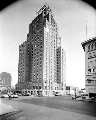 The Biltmore Hotel was one of Oklahoma City's tallest buildings before it was demolished. Oklahoma Historical Society Photo