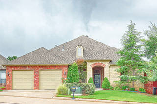 The Listing of the Week is at 5904 Chestnut Court in The Oaks at Oak Tree in Edmond. PHOTO PROVIDED - PROVIDED