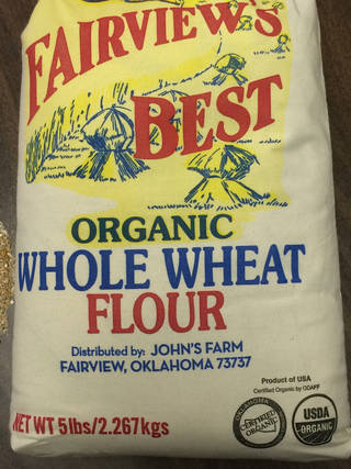 Local flour from John's Farm in Fairview. SHERREL JONES - THE OKLAHOMAN