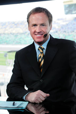 NASCAR analyst Rusty Wallace will be in the pit studio for Sunday's race at Texas Motor Speedway. Photo provided