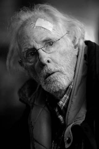 "This image released by Paramount Pictures shows Bruce Dern as Woody Grant in a scene from the film ""Nebraska,"" about a booze-addled father who makes to Nebraska with his estranged son in order to claim a million dollar Mega Sweepstakes Marketing prize. (AP Photo/Paramount Pictures, Merie W. Wallace)"