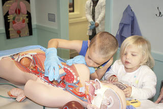 "Kids can learn about human anatomy in WONDERtorium's ""My Medical Center."" Photo provided Photo provided"