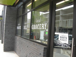 Native Roots Market on the first floor of Level Urban Apartments, NE 2 and Walnut, is set to open up next month. Steve Lackmeyer