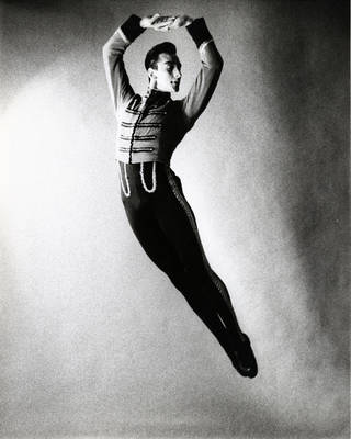 """Miguel Terekhov portrays the Baron in Leonide Massine's """"Gaite Parisienne"""" with Ballet Russe de Monte Carlo in this photograph from the 1950s. PHOTO PROVIDED BY THE OU SCHOOL OF DANCE"""
