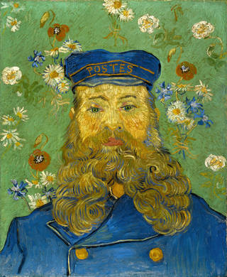 """Portrait of Joseph Roulin,"" an 1889 oil by Vincent van Gogh Photo courtesy of the Kroeller-Mueller Museum Photo courtesy of the Kroeller-Mueller Museum"