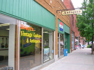 Bruce's Vintage Guitars & Antiques is shown in Norman. PHOTO PROVIDED