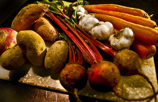 Root vegetables are in season. CHRIS LANDSBERGER - THE OKLAHOMAN