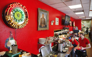 The interior of Beverly's Pancake House at Northwest Expressway and Independence. Photo by Jim Beckel, The Oklahoman Jim Beckel - THE OKLAHOMAN