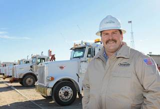 Jerry Winchester is CEO of Chesapeake Oilfield Services. David McDaniel - The Oklahoman