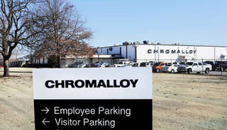 The Chromalloy plant, 1720 National Blvd. in Midwest City, will be eliminating 130 jobs by May. Photo by Jim Beckel, The Oklahoman