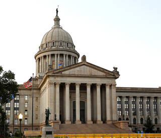 Pictured is the Oklahoma state Capitol. Photo by Jim Beckel, The Oklahoman