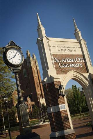Oklahoma City University, on NW 23 and Blackwelder, is home about 2,100 undergraduate students and 1,700 graduate students. PHOTO PROVIDED BY OKLAHOMA CITY UNIVERSITY