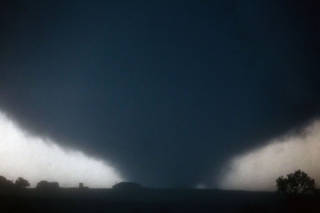 This is the photo shot by Chris Machian near El Reno just south of Interstate 40 on May 31. Several tornadoes in the area caused damage and injuries. CHRIS MACHIAN/THE WORLD-HERALD CHRIS MACHIAN