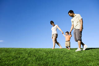 "University of Maryland sociology professor Philip Cohen said that while the single largest group of children, 34 percent, live with married parents who both work, that falls short of qualifying as an ""average."" (©istockphoto.com/jhorrocks)"