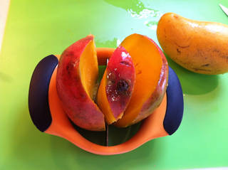 Sliced, fresh mango is delicious. Photo provided