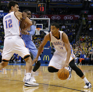 Andre Roberson. Photo by Bryan Terry, The Oklahoman