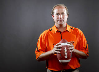 OSU offensive coordinator Dana Holgorsen reportedly is headed to West Virginia. Photo by Bryan Terry, The Oklahoman