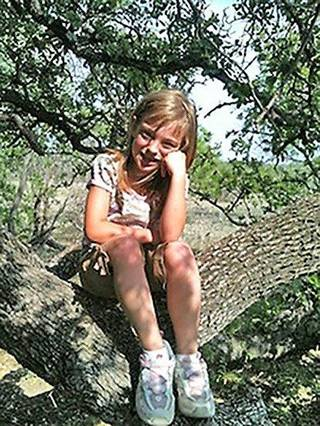 Abigail Jones, 9, died in a wreck Sunday, Sep. 29. PROVIDED