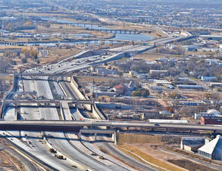 Interstate 40 has been relocated south of the Oklahoma City downtown area. PHOTO PROVIDED