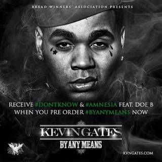 """Pictured is the cover art for Kevin Gates' """"By Any Means"""" mixtape. Image via the artist's website."""