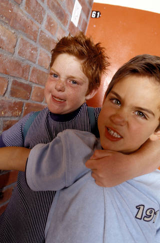 Being pushed around at home by an older sibling can be as damaging as being bullied at school. STOCK IMAGE MICHEL TOURAINE (RF)