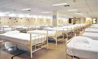 This is one of the dormitories for immigrant minors at Fort Sill in Lawton. Photo provided