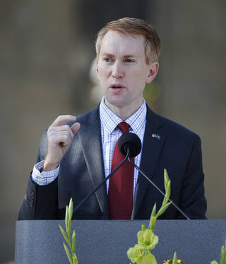 Rep. James Lankford has led the charge to reduce fraud in entitlement programs and eliminate duplication across government agencies. Sue Ogrocki - AP