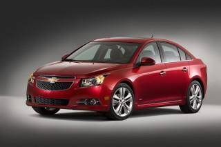 The 2014 Chevrolet Cruze is shown. AP Photo