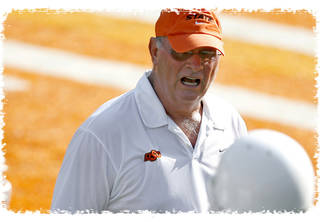 OSU is hoping for a defensive change of fortune against Texas Tech under first-year defensive coordinator Bill Young. Photo by Bryan Terry, The Oklahoman