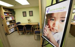 The new Infant Crisis Services office is a new addition to Integris Southwest Medical Center in Oklahoma City. PAUL B. SOUTHERLAND