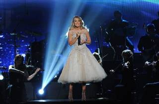 """: Checotah native Carrie Underwood performs on """"ACM Presents: An All-Star Salute to the Troops."""" (AP)"""