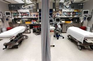 File photo of the emergency room at OU Medical Center by William Moore