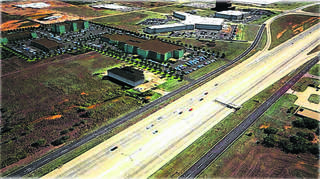 HPI has plans for a 60,000 square-foot inpatient hospital as part of a second phase of the development. There are another 10 acres to the east that developer Randy Hogan believes could also be used for future medical development. - PROVIDED BY HCI LLC