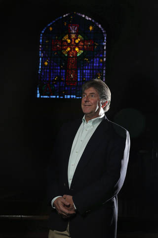 The Rev. Mateen Elass is shown Thursday at the First Presbyterian Church of Edmond. Photo by Sarah Phipps, The Oklahoman
