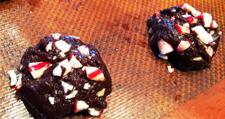 Perky Chocolate Peppermint Drops are perfect for the holidays.