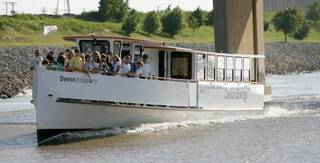 The Oklahoma River Cruisers, shown in this 2008 photo, carried thousands of passengers during the first year operation but have seen diminished ridership ever since. BRYAN TERRY - THE OKLAHOMAN