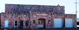 The Thomas Community Building in downtown Thomas, built in 1939 by the Works Progress Administration, was added to the National Register of Historic Places. PHOTO PROVIDED BY STATE HISTORIC PRESERVATION OFFICE