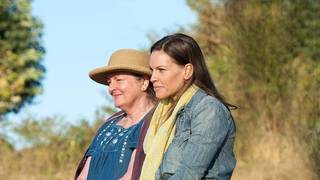 "Actors Brenda Blethyn and Hilary Swank are shown in a scene from the HBO film ""Mary and Martha."" Photo provided"