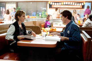 "This image released by Summit Entertainment shows Emma Watson, left, and Logan Lerman in a scene from ""The Perks of Being a Wallflower."" (AP Photo/Summit Entertainment, John Bramley) ORG XMIT: NYET639"