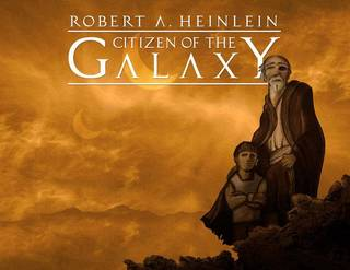 "Promotional art for ""Citizen of the Galaxy."" Photo provided."
