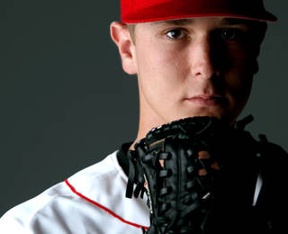Yukon pitcher Chad James has agreed to terms with the Florida Marlins. Photo By John Clanton, The Oklahoman