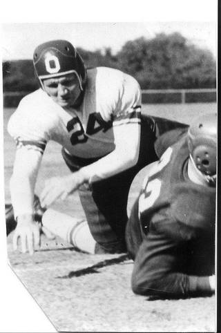 OU's Cliff Speegle in 1939. FROM THE OKLAHOMAN ARCHIVES Picasa