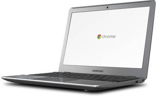 The Samsung Chromebook from Google. AP PHOTO/GOOGLE Uncredited
