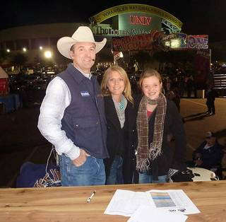 Justin McKee with his wife, Jeannie, and daughter Kassidy McKee. Photo provided. PROVIDED - Photo Provided