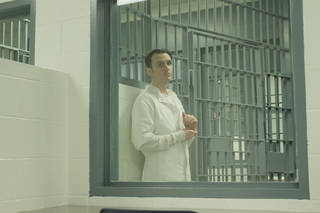 """Damien Wayne Echols is shown before his release from prison in """"West of Memphis."""" SONY PICTURES CLASSICS PHOTO"""