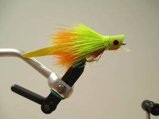 The Femme Fatale is a good fly to use for bass fishing. Photo provided -