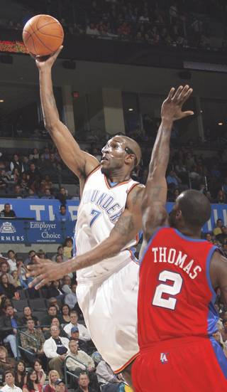 OKC's Joe Smith isn't too worried about the mounting losses yet. Photo by Nate Billings The Oklahoman